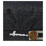 Кепка HERMAN арт. MARINS 007 (черный)