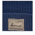 Шапка HERMAN арт. EDMOND 057 (синий)