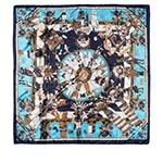 Шарф HERMAN арт. ORISIS (синий / голубой)