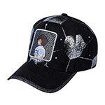 Бейсболка CAPSLAB арт. CL/TSU/TAG/1/N10 Captain Tsubasa Number 10  (черный)