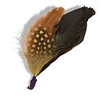Перо GOORIN BROTHERS арт. 123-5957 (черный / коричневый)